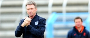 England manager Kenny Swain saw his side win by a single goal.