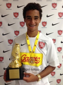 Bruno Gomes will join Manchester United when he turns 18, in 2014.