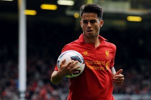 Suso's appearances for Liverpool have been limited recently.