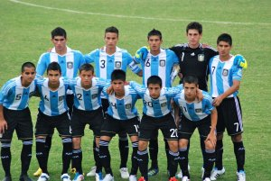 Argentina U17s are playing the tournament on home soil.