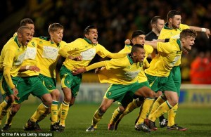 Norwich City came into the final after a penalty shootout win over Nottingham Forest.