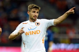 Fabio Borini previously played for AS Roma, where his performances earned him a move to Liverpool.