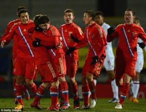 Russia U17s were glorified this summer at the European Championship.