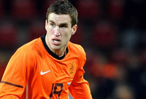 Despite being 23-years-old, Kevin Strootman lines up for Netherlands.