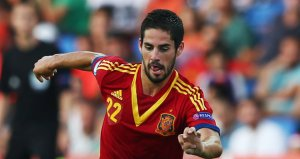 Isco and his Spain side are in the European Under 21 Championship final. Image: Sky Sports