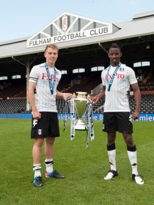 Fulham won the Barclays U18 Premier League trophy last season.