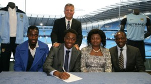 Denzeil Boadu is one of City's main striking options for the future.