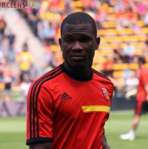 Dimitri Cavaré netted a double for Lens in their impressive victory.