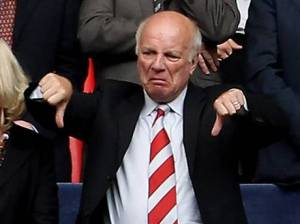Greg Dyke issued a huge warning for the future of English football. (Image: Independent)
