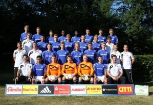 Holstein Kiel's under 19 squad, who beat Werder Bremen.
