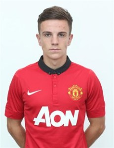 Joshua Harrop netted the last minute penalty for Manchester United.