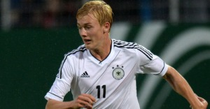 Julian Brandt has inspired Wolfburg's under 19 side to a perfect record this season.