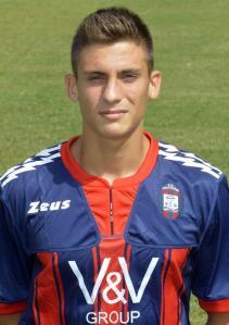 Cristian Riggio scored a consolation for Crotone against Lazio.