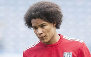 Goalscorer Brown in his West Brom days. He now plays for Chelsea.