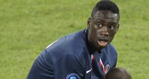 Jean Kevin Augustin netted a brace for PSG in their win over Quevilly.