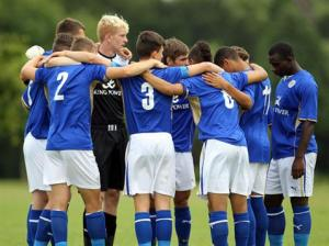 Leicester City under-18s caused the shock of the weekend.