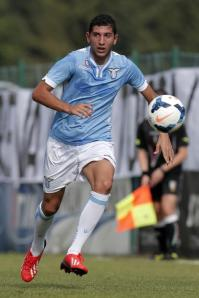 Lazio's Italian youth international Luca Crecco.