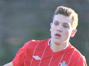 Sam Gallagher netted a hat-trick for Southampton in the second half. Image: SaintsFC