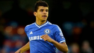 Chelsea's Dom Solanke scored the only goal of the game against Czech Republic.