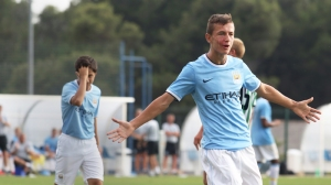 Bersant Celina scored Man City's winner. Image: mcfc.co.uk