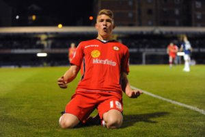 Max Clayton scored the only goal of the game to give Crewe victory.